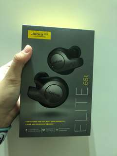 Jabra elite 65T wireless earbud black