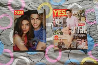 ALDUB: Yes! Magazine Jan 2017 issue