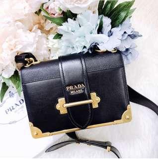 💰半價正貨| 全新Prada Cahier Bag