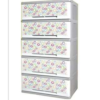 Orocan Milano Candy 5 Layer Drawer