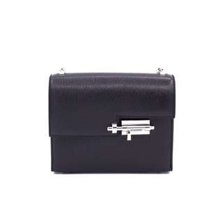 (NEW) HERMES H071320CK MINI VERROU CHEVRE MINI SHOULDER BAG PHW 全新 黑色 手袋 銀扣