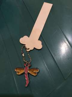 Dragonfly key chain