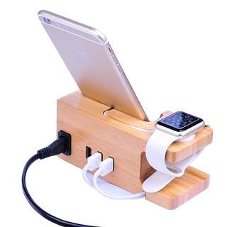 Apple watch & iPhone Charging Dock Station
