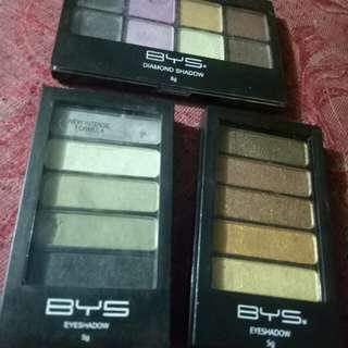 BYS Authentic Eyeshadow Bundle