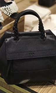 Original Tory Burch women half moon small satchel
