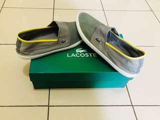 Lacoste Slip on Shoes Authentic