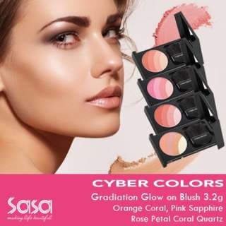 Authentic Cyber Colors Gradation Glow On Blush 04