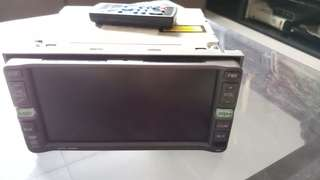 Used Toyota DVD player with remote control as good as new!