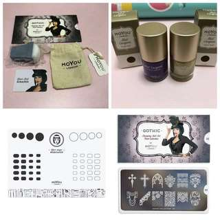 AUTHENIC MoYou London Stamping Plate & Mat