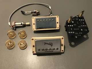 Gibson Burstbucker Pro Pickup set with extras