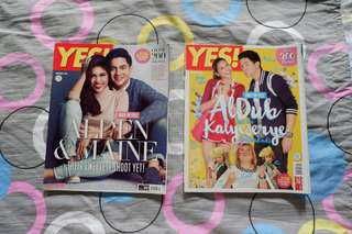 ALDUB: Yes! Magazine's first magazine issue & Jan 2016 issue