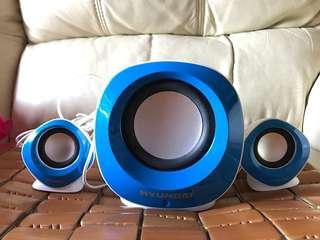 現代牌 音響 喇叭