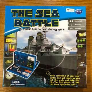 Sea battle classic strategy game