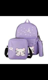BacktoSchool Meow Bags