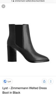 Zimmermann black boots