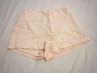 Lace Pink Short