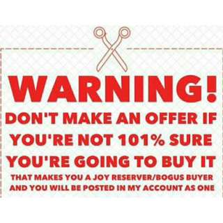 ***WARNING***