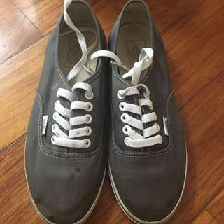 Vans Gray/Grey Sneakers