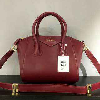 Givenchy Antigona Maroon Color