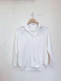 🚚 韓妞白襯衫(質感超好)
