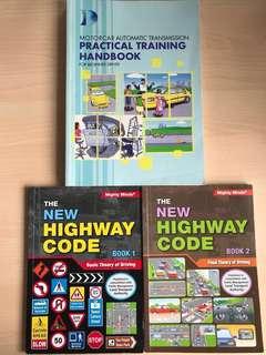 Motorcar practical training & theory books