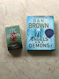 Angels and Demons, Inferno by Dan Brown