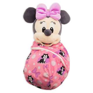 [PO] Disney Minnie Mouse Plush in Pouch - Disney Babies - Small