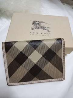 Authentic Burberry card holder/small wallet