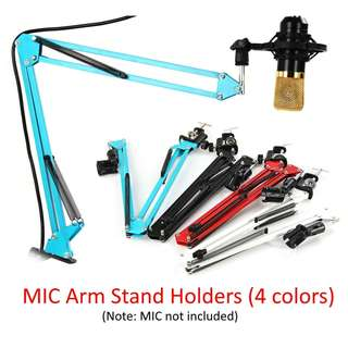 💯 NB - 35 Extendable Microphone Suspension Scissor Arm Stand Holder Clip Clamp