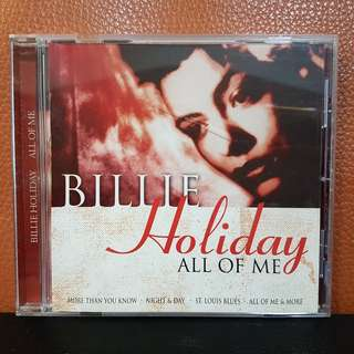 CD》Billie Holiday - All Of Me