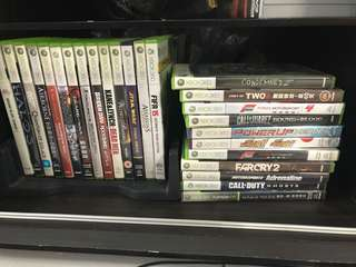 Xbox 360 Games CLEARANCE SALE!!