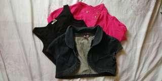 H&M young, YRYS, NY Square Bolero Vest