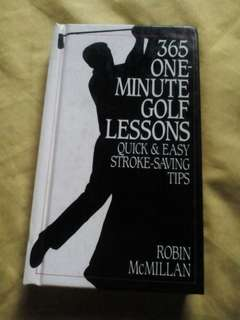 365 One-Minute Golf Lessons