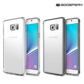 Galaxy Note5 Ringke Rearth Fusion 軟邊透明硬底殼手機保護套Case 2587A