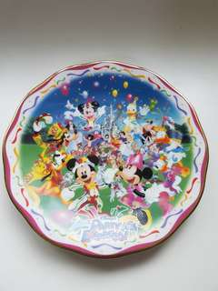 Tokyo Disneyland Display Plate