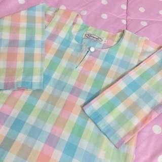 Pastel English Cotton Baju Kurung / Selesa / Baju Raya