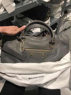 巴黎世家 balenciaga city S metallic edge