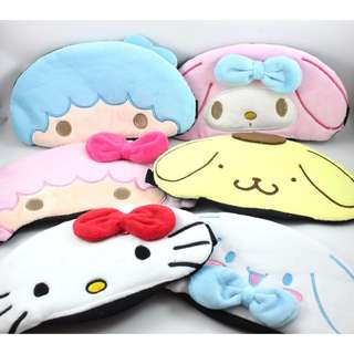 Little Twin Stars / My Melody / Pompompurin / Hello Kitty EYE MASK