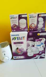 Philips Avent Breast Feeding Support Set