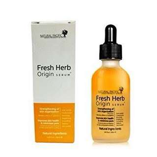 fresh herb origin serum SHARE IN JAR