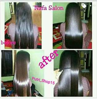 Paket Rambut Barbie Hair-Smoothy