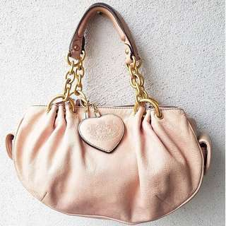 JUICY COUTURE AUTHENTIC GENUINE LEATHER BAG