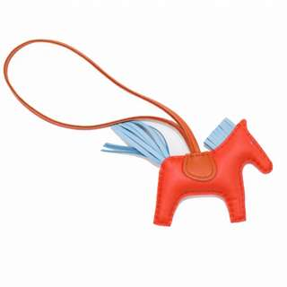 (NEW) HERMES HORSEY CHARMS BOLSA RODEO LAMBSKIN PM KEY CHAIN 全新 鎖匙扣