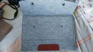 Clutch bag 文件袋  a4 size 8成新