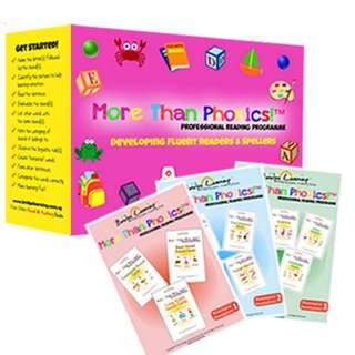 More Than Phonics Reading Cards