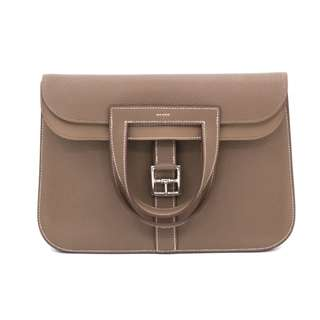 (NEW) HERMES H070428 HALZAN TAURILLON CLEMENCE SHOULDER BAG PHW 全新 手袋 銀扣