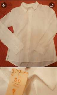 🚚 全新正式穿著白襯衫~