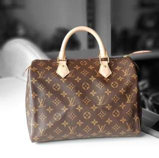 Authentic Brand New Louis Vuitton Speedy 30 LV