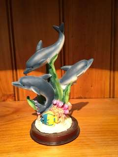 Dolphin Trio Decorative Item