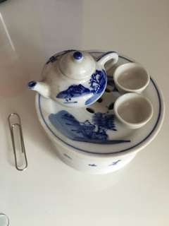 Miniature chinese tea pot set ceramic